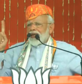 Elections 2019-After Massive Roadshow In Varanasi, PM Talks Of Pulwama, Uri Attack